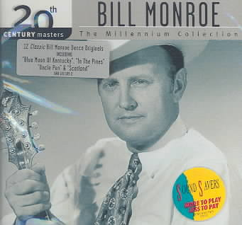 20TH CENTURY MASTERS:MILLENNIUM COLLE BY MONROE,BILL (CD)